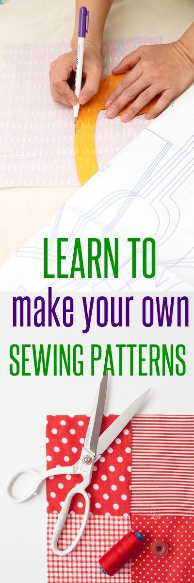 Liste ultime de cours et de livres de création de patrons de couture en ligne   – Hobbies: Sewing
