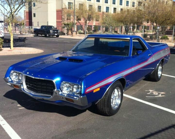 72 Ford Ranchero Classic Cars Trucks Cars Old Muscle Cars