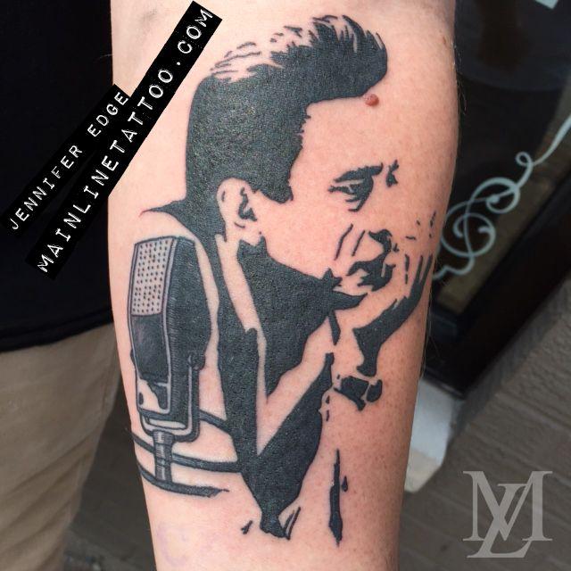 Tattoo Ideas Johnny: Johnny Cash Tattoo By Jennifer Edge