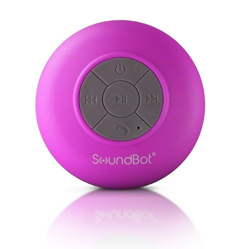 I would like this soundbot for showers.