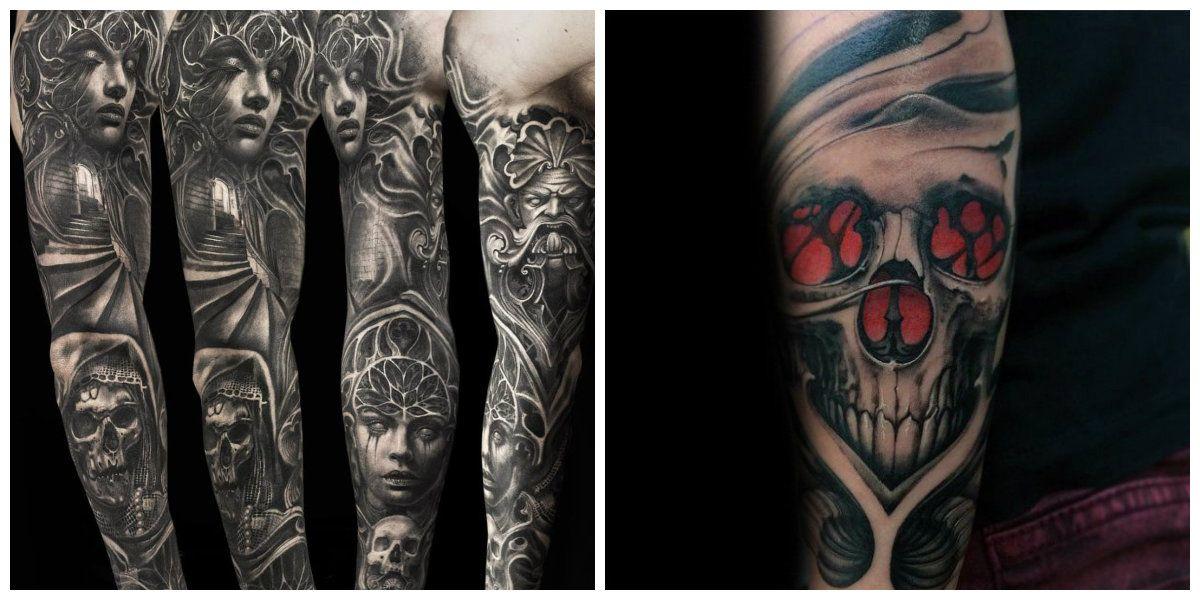 Tatuajes Goticos Corrientes Y Representaciones Muy A Menudo Usados