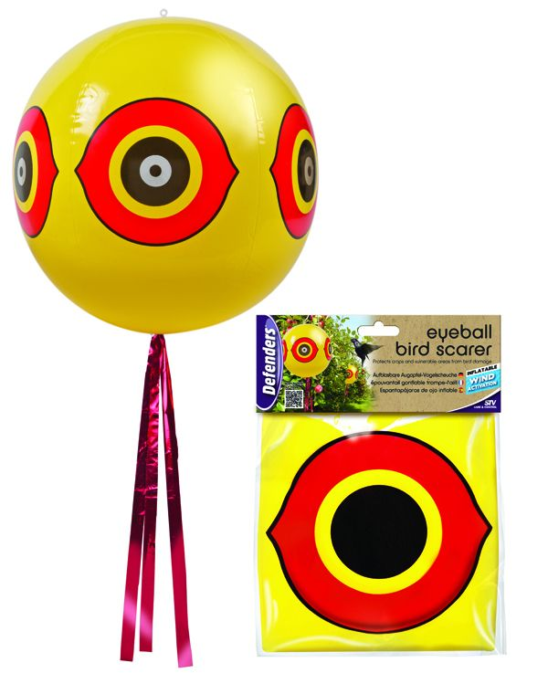 Eyeball Bird Scarer | Rachel's miscellany | Garden ornaments