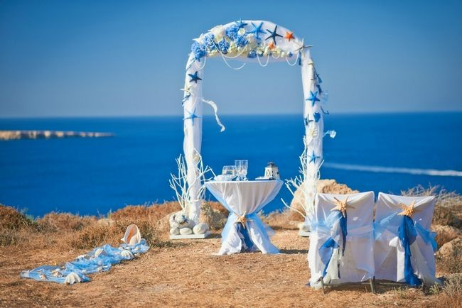 Ceremony arch and Weddings