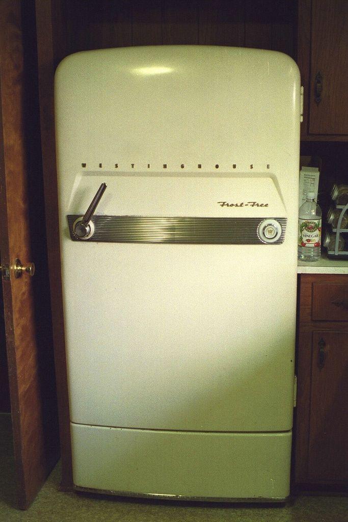 1953 Westinghouse Refrigerator Vintage Fridge Kitchen Design Decor Vintage Appliances