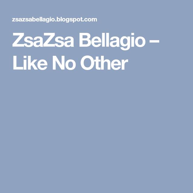 ZsaZsa Bellagio – Like No Other | Вкусняшки, Подарки на ...