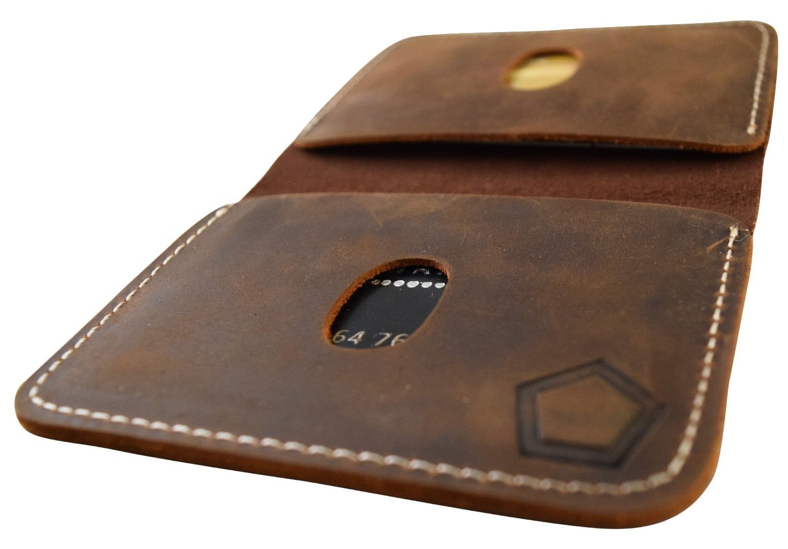 KNOXX minimalist rugged leather mens wallet - The Last Wallet You Will Ever Need