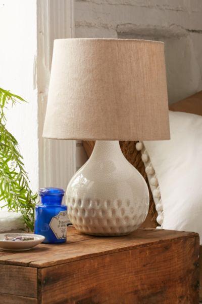 Crackled Glaze Table Lamp Decor Table Lamp Art Furniture