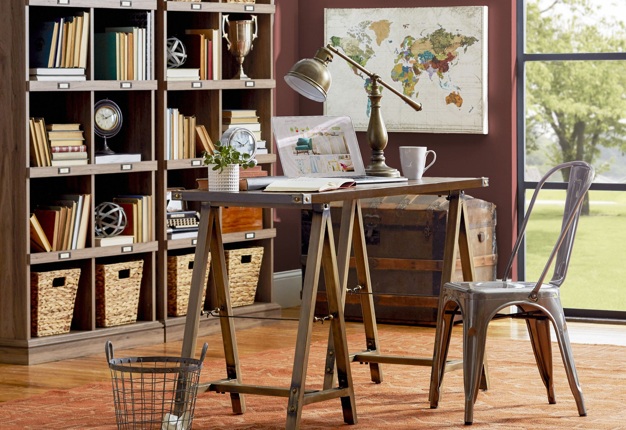Brinkman writing desk products pinterest writing desk desks found it at wayfair world map of maps by studio voltaire graphic art on wrapped canvas gumiabroncs Gallery