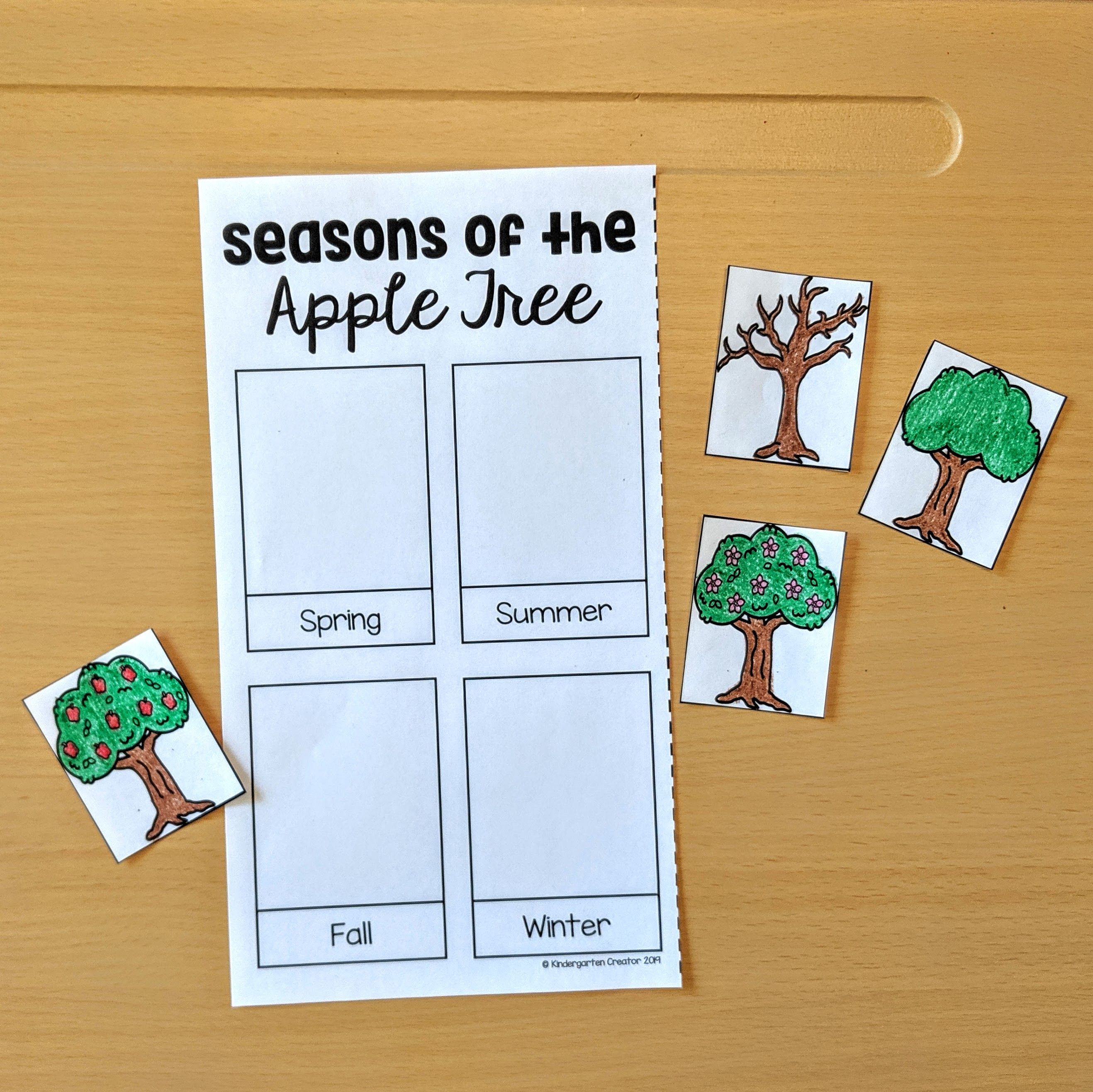 Seasons Of An Apple Tree With Images