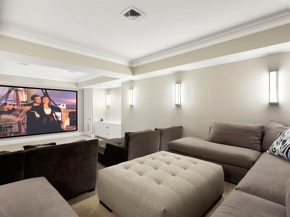 Home Theater, Georgica Road. | King of the World | Pinterest ...