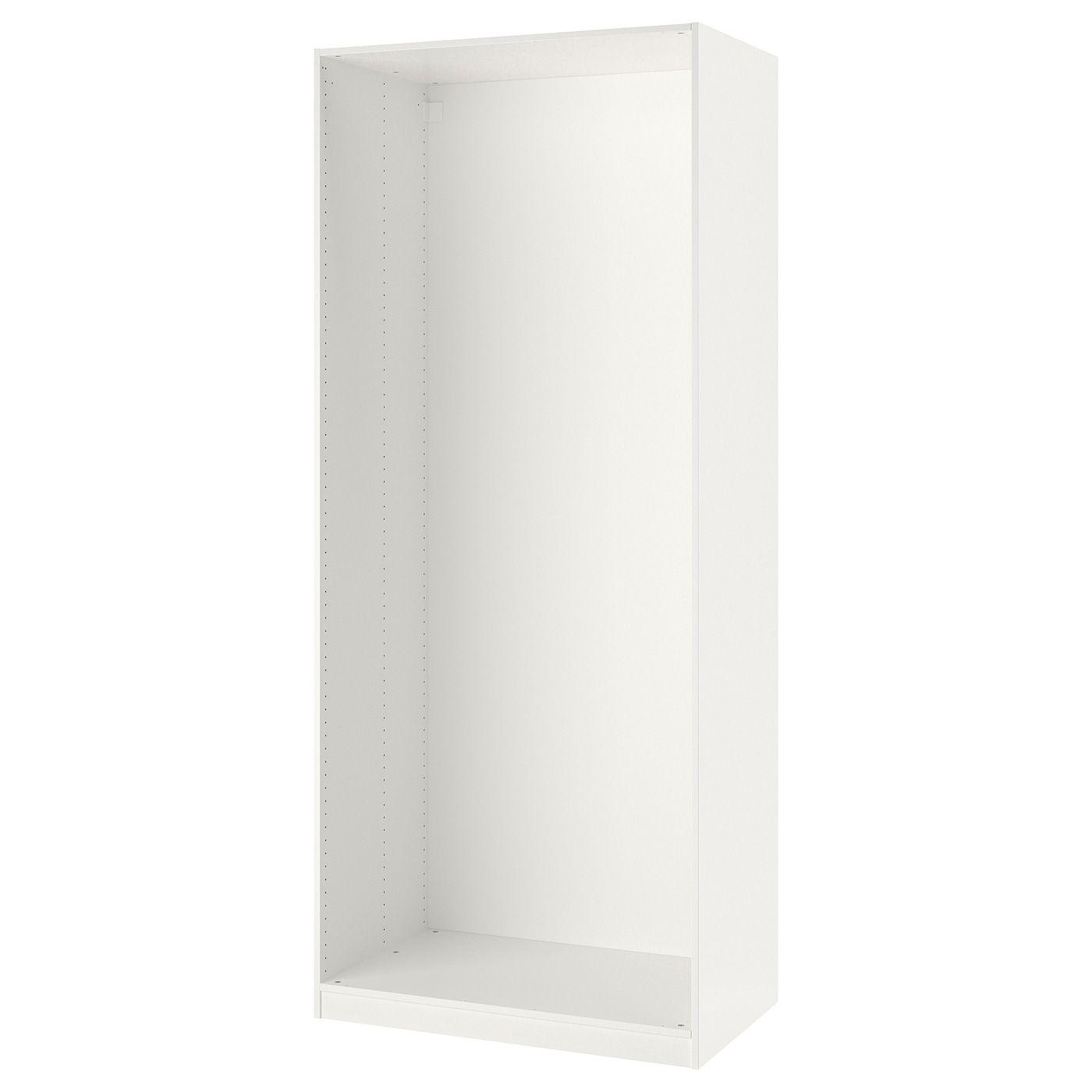 IKEA PAX White Wardrobe frame Ikea pax, Pax wardrobe