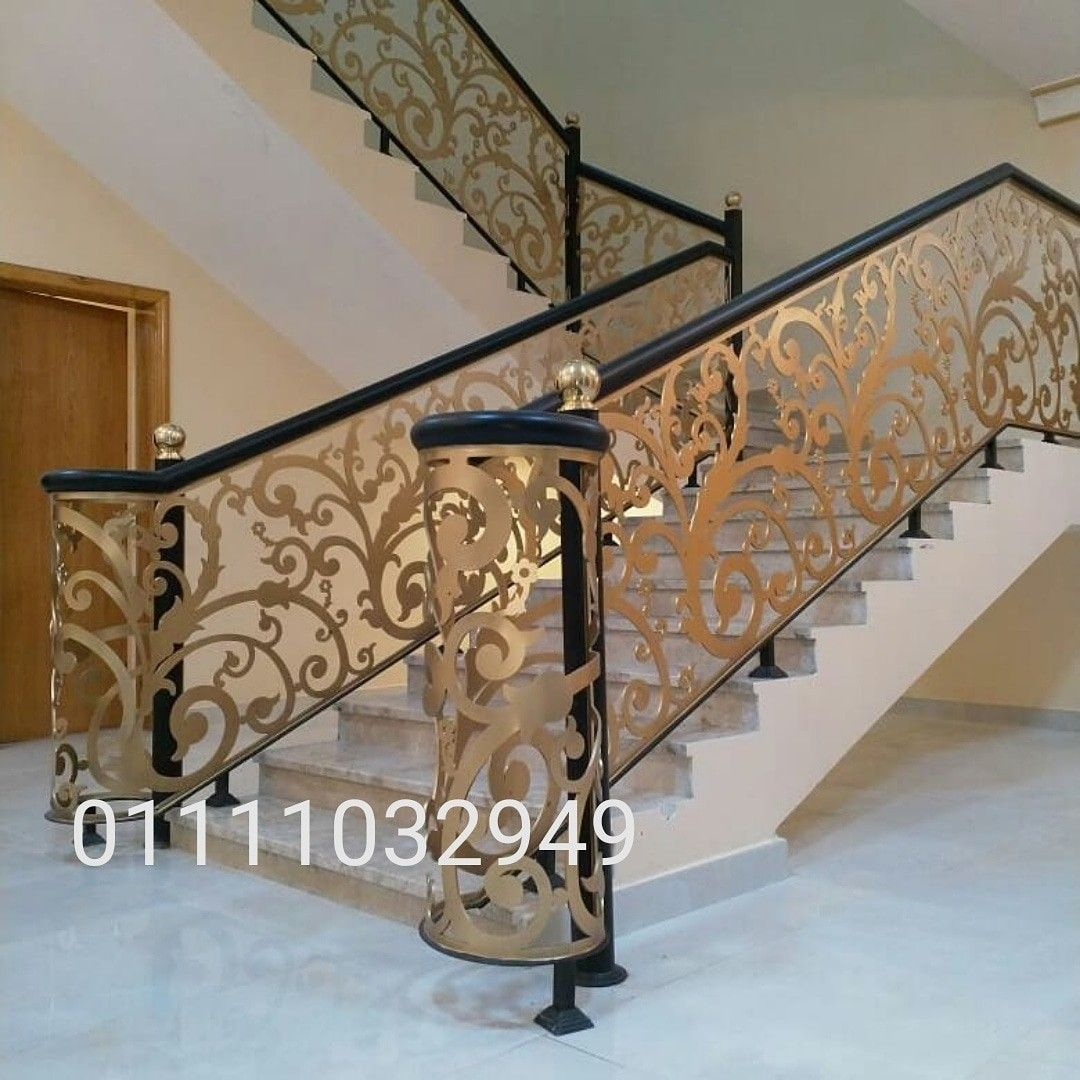 درابزين حديد قص ليزر Ceiling Design House Decor