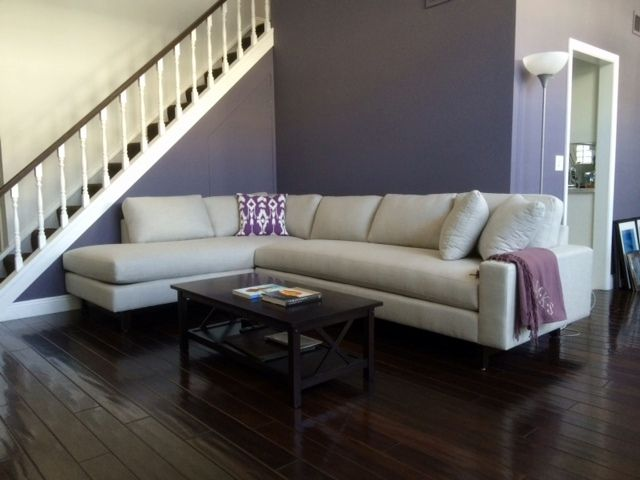 Custom Sofa Or Sectional Leather Fabric Ships Nationwide