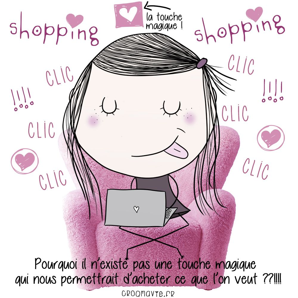 shopping, achat, touche magique, trop cool