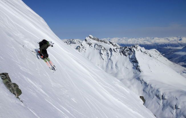 The Alps of Lyngen