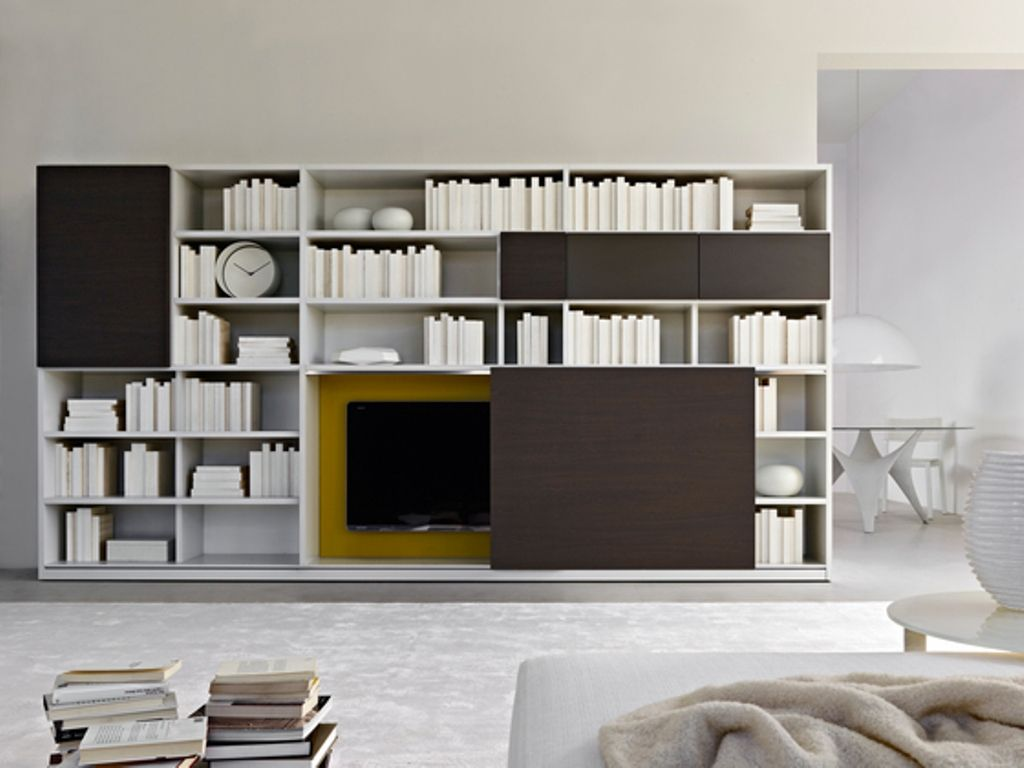 Shelving · Furniture Wall Modular Elements By Molteni. Living Room  ShelvingBookshelf ...