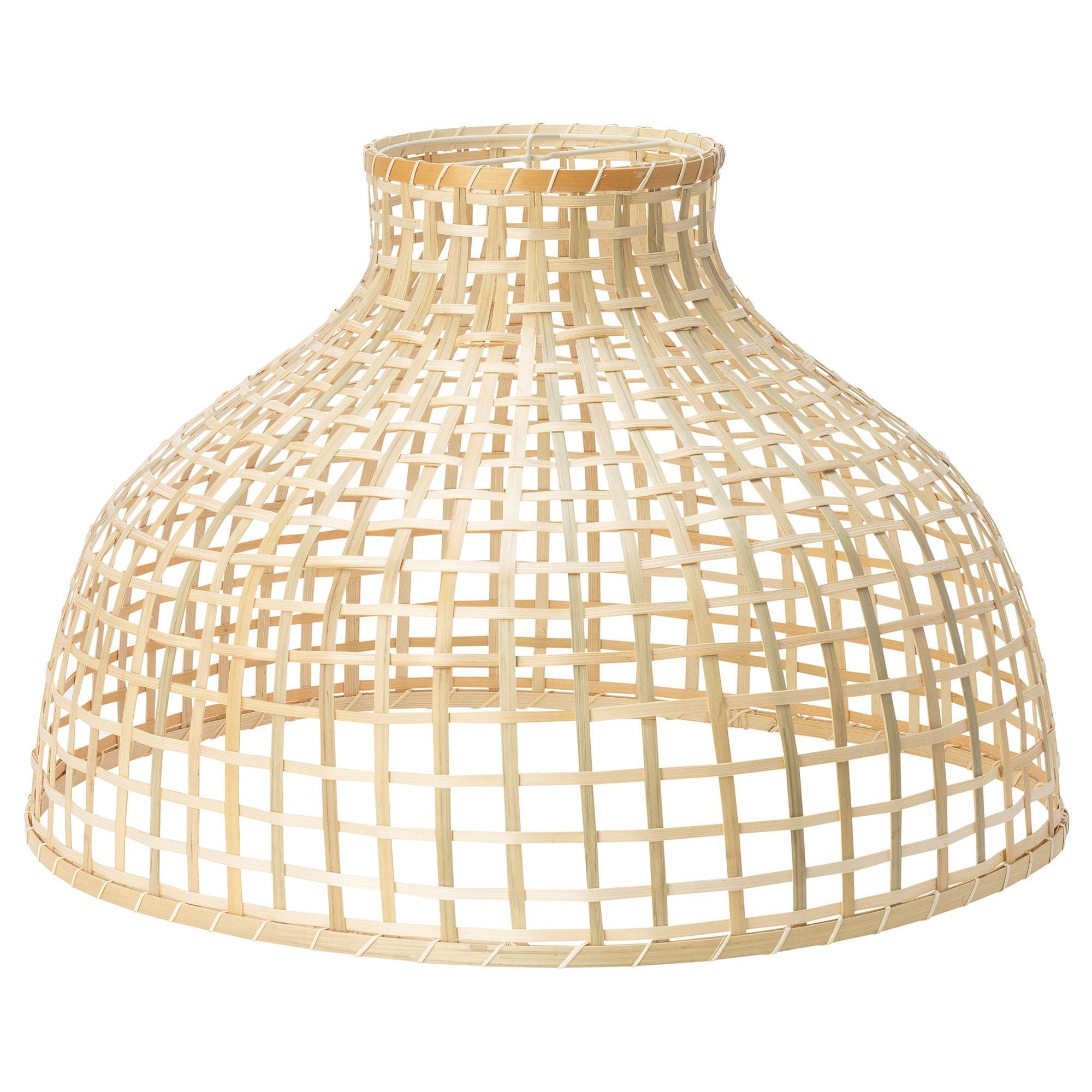 Ikea Gottorp Pendant Lamp Shade Each Handmade Natural Fiber Shade Is Unique Pendant Lamp Shade Pendant Lamp