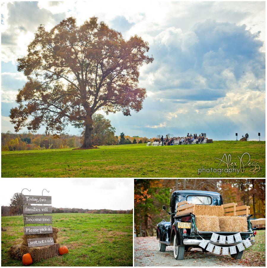 North Carolina Farm Wedding Kiersten Sam: Summerfield Farms, Greensboro NC