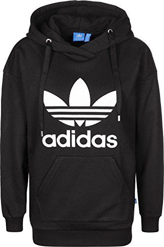 adidas Trefoil Sweat-Shirt à Capuche Femme  957f090b9be