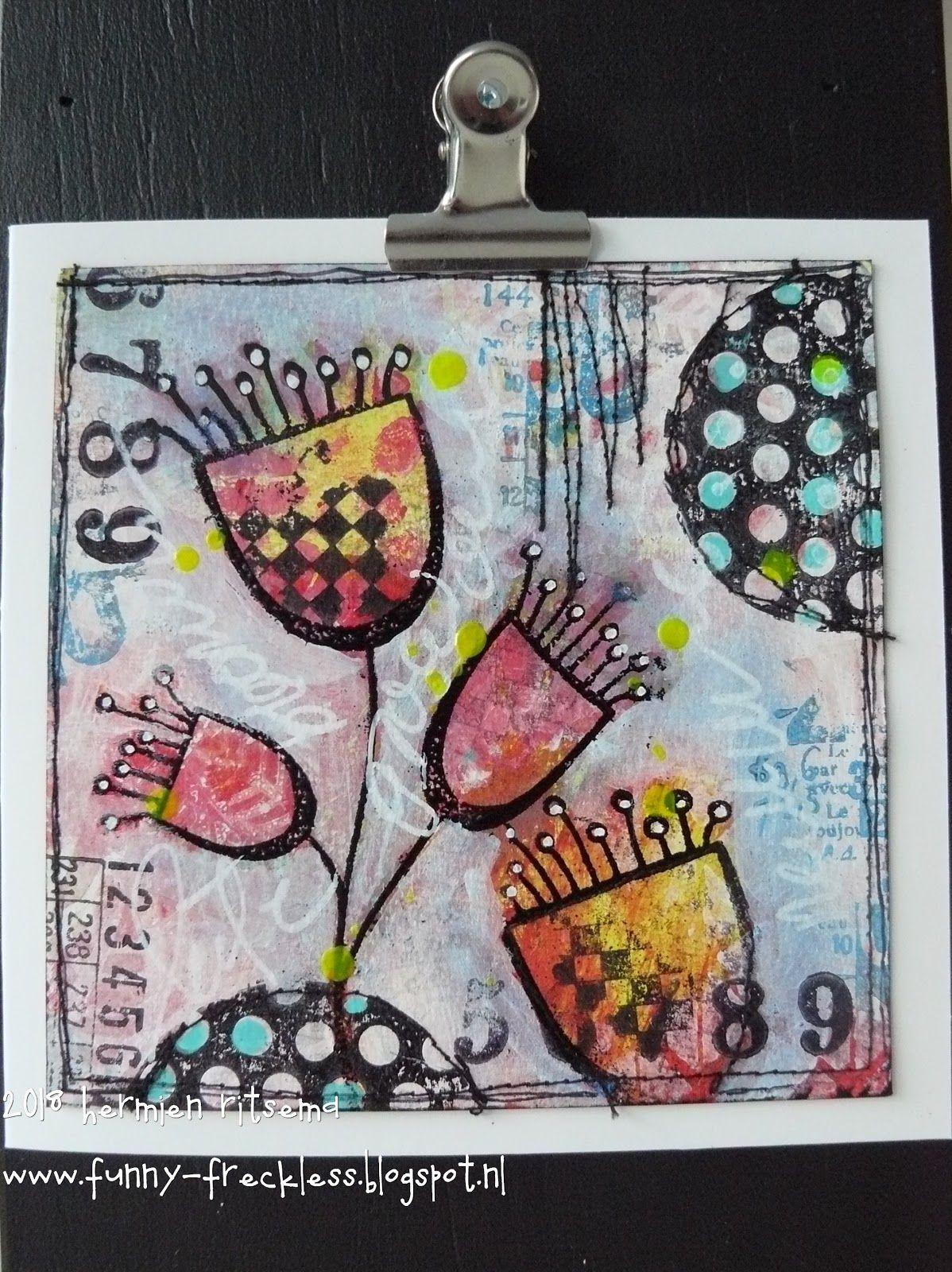 Darkroom door springtime sprouts line art stamp darkroom door