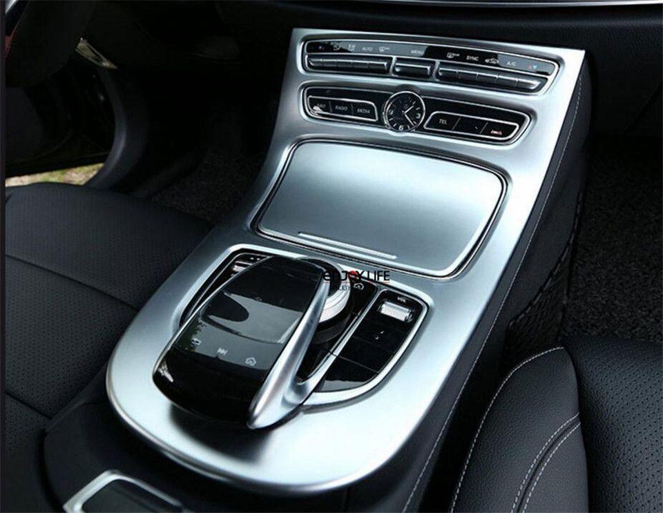 Central Console Gear Shift Box Panel Cover For Mercedes Benz W213 E Class 2017