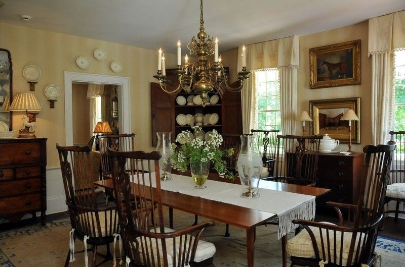 Perfect Southern dining room | Colonial dining room ...
