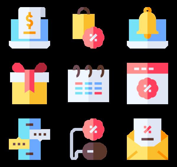 50 Premium Vector Icons Of Cyber Monday Designed By Freepik