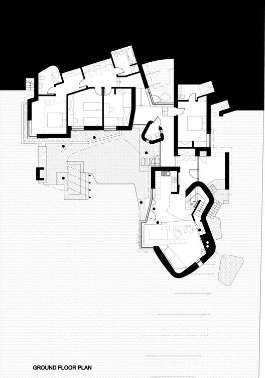 Fishing Lodge Simon Gill Architects Fishing Lodge Hotel Floor Plan Ground Floor Plan