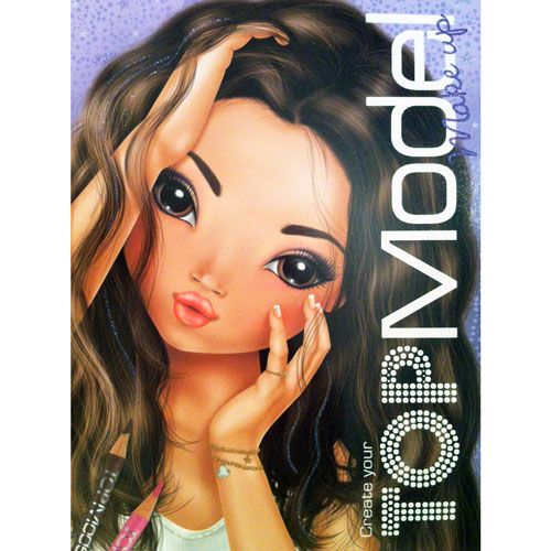 TOPModel Make Up Colouring Book £4.50
