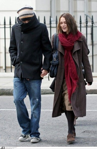 Keira Knightly In Boston Suede Clog Celebrities