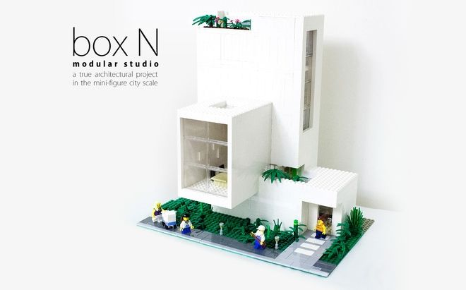 This is a little architecture project, which is my own studio in the brick  city