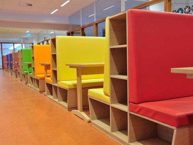 Leerling meubilair klassehout meubilair voor primair for Meubilair basisschool