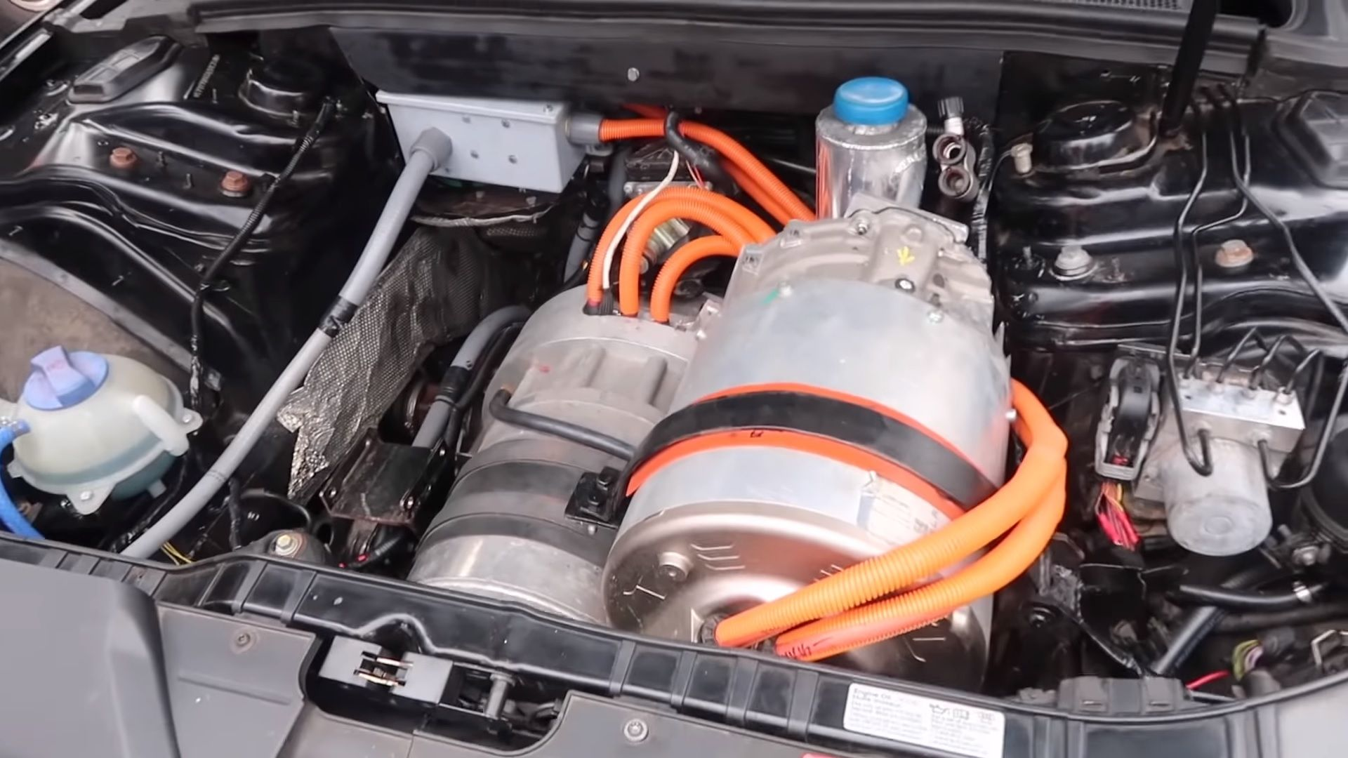 Tesla Powertrain And Batteries Completely Transform This Audi Rs5 Top Speed Audi Rs5 Audi Tesla