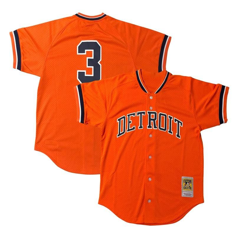 huge discount 1811d f38a4 Alan Trammell jersey - Detroit Tigers Retro Throwback ...