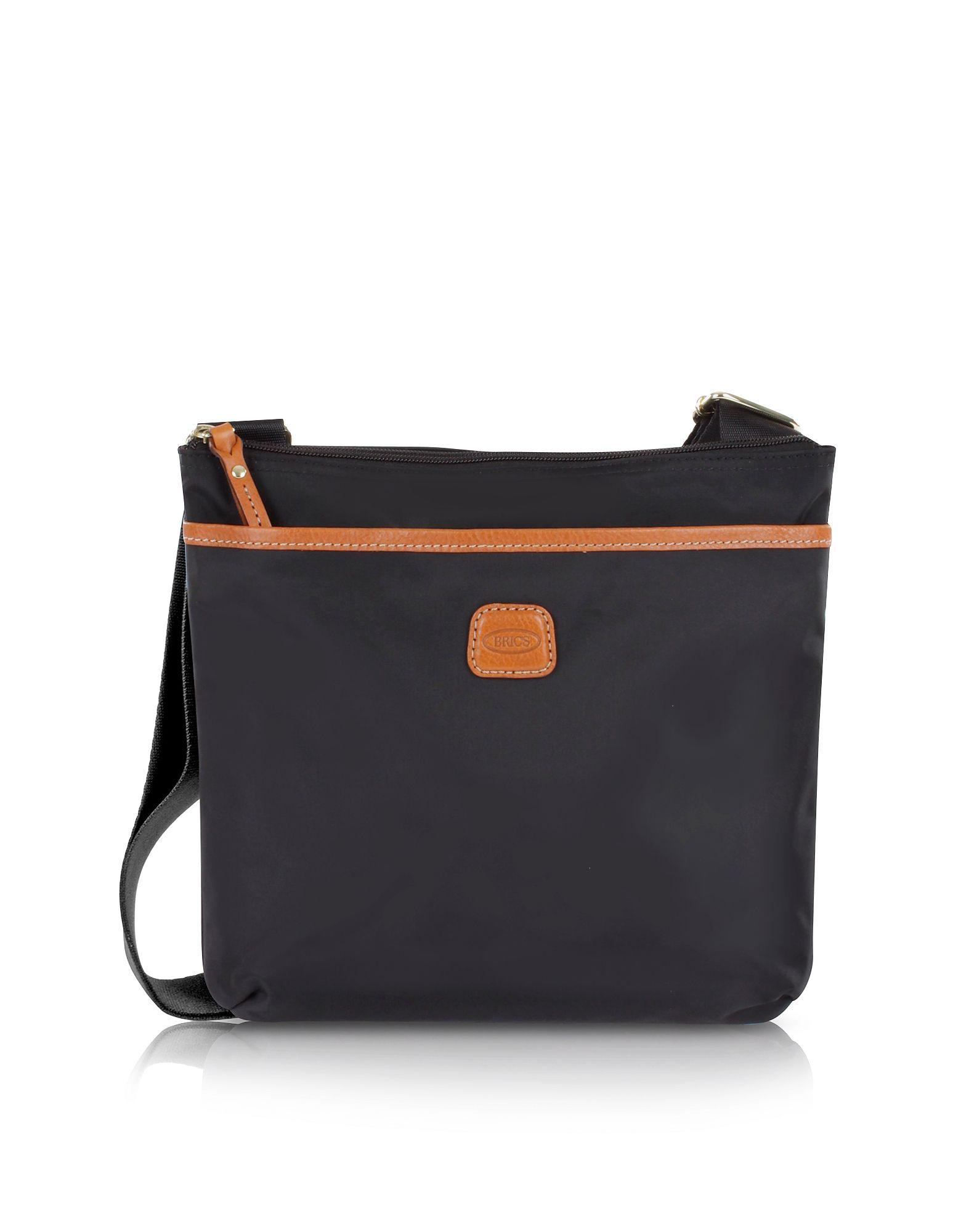 Bric S Brics Bags Shoulder Leather Nylon Crossbody Cotton