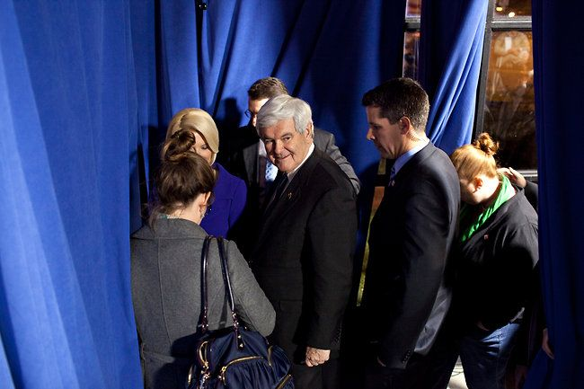 Gingrich Turns to Ohio, Hoping for a Super Tuesday Payoff