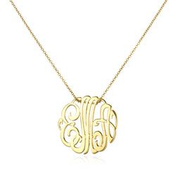 Pendants ginette ny mini lace monogram necklace 250 monograming pendants ginette ny mini lace monogram necklace 250 mozeypictures Image collections