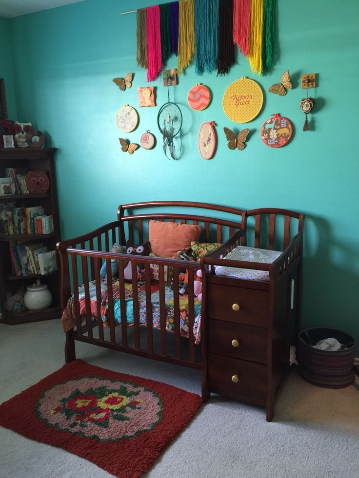Rainbow Baby Room