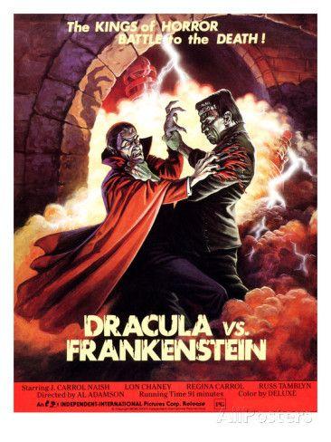 """""""Drácula contra Frankenstein"""" (1971), de Al Adamson"""