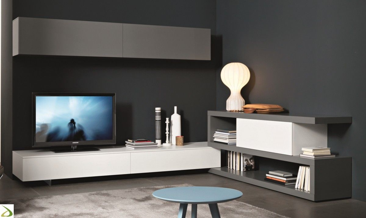 pareti tortora e mobili bianchi - Cerca con Google   Arredamento d ...