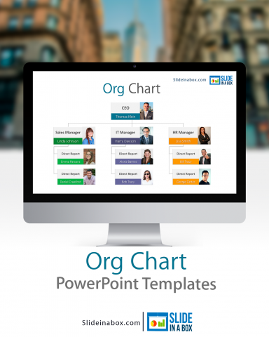 org charts powerpoint template show more effectively your company