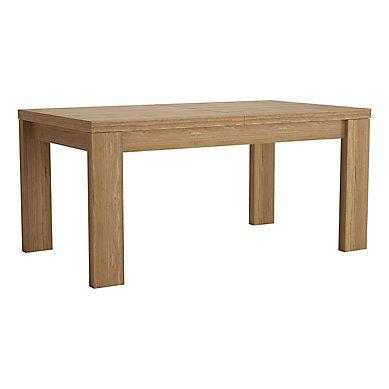 Table L 160 200 Cm Campton Placage Chene Table Basse Bar Decoration Maison Mobilier Lit