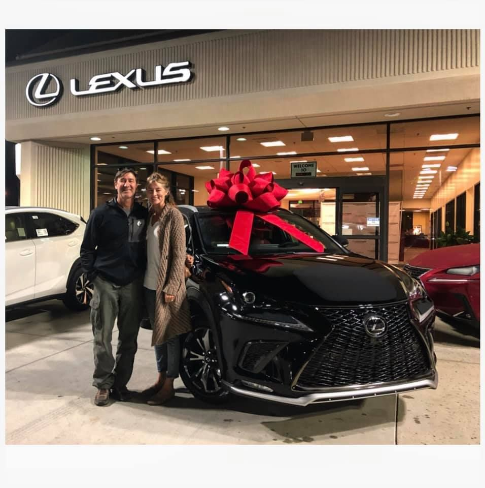 Honor One Help Many Congratulations To The Sagelys On Their New Car Thank You For Your Business And Your Service T Lexus New Cars Flying Helicopter