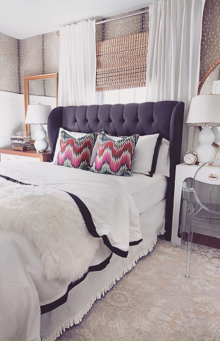Window headboard ideas  pin by justine roe on bedroom  pinterest  bedrooms future and room