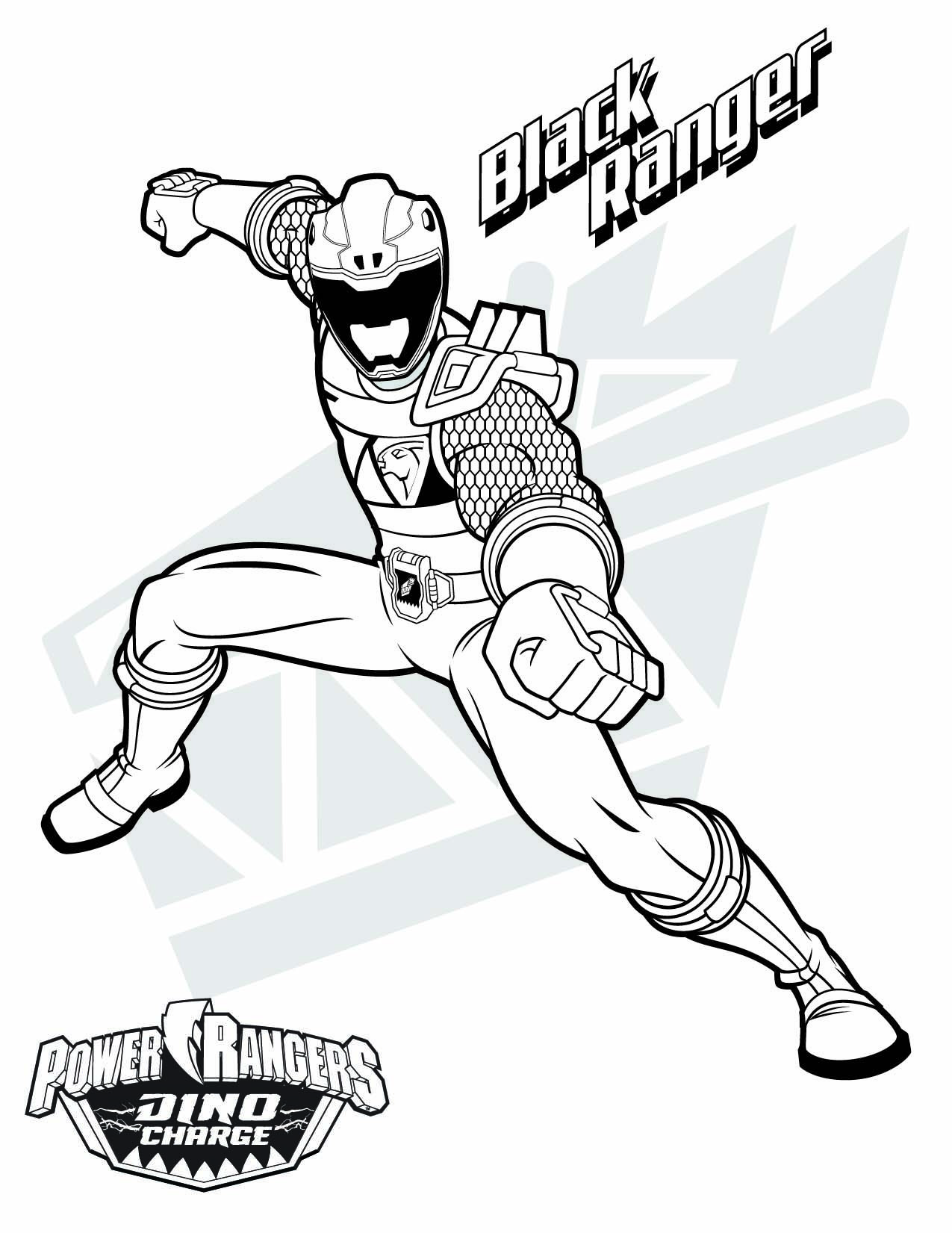 dino thunder coloring pages - photo#23