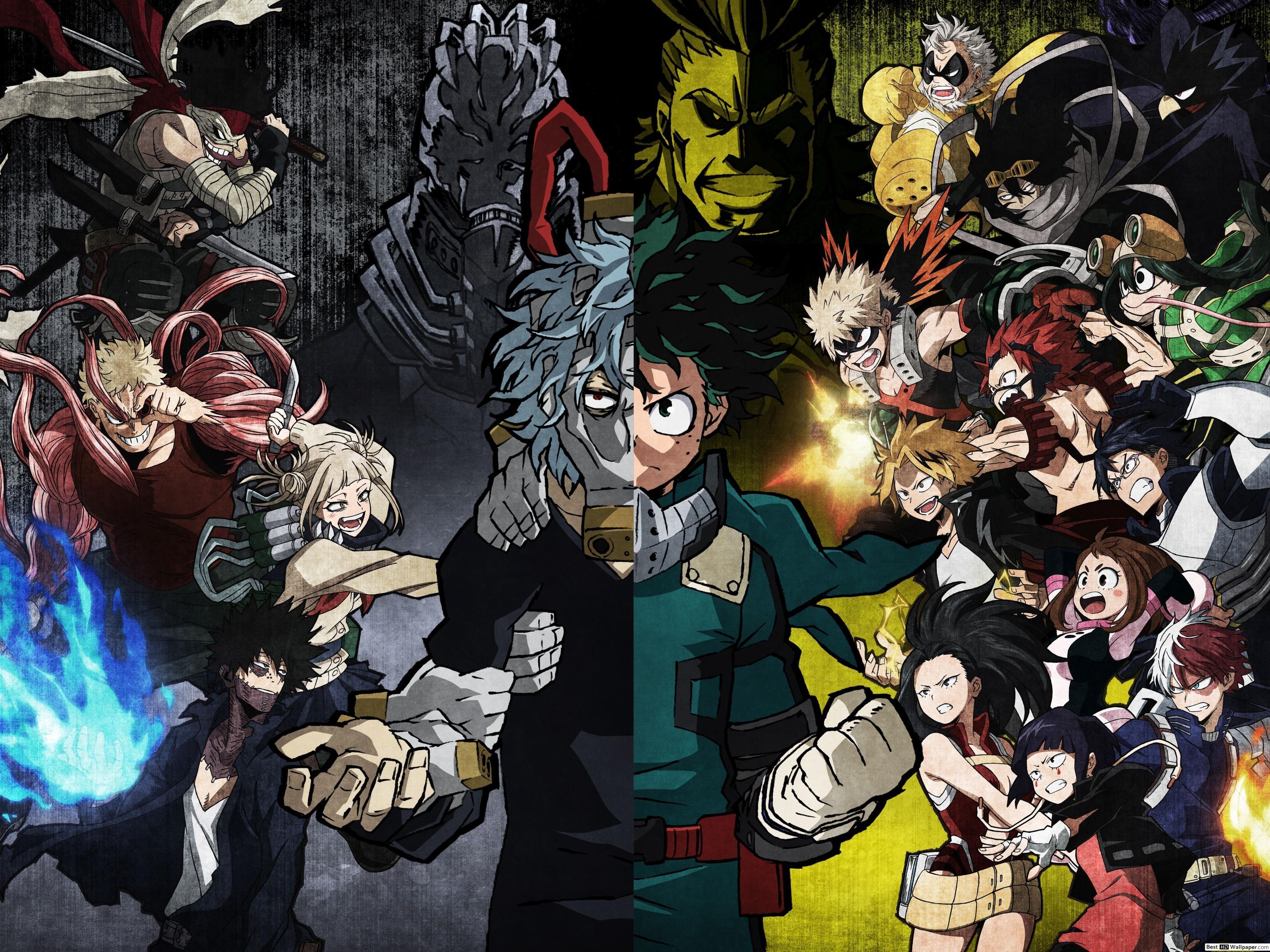 My Hero Academia Villains Wallpapers Top Free My Hero Academia Villains Backgrounds Wallpaperaccess Hero Wallpaper My Hero Anime