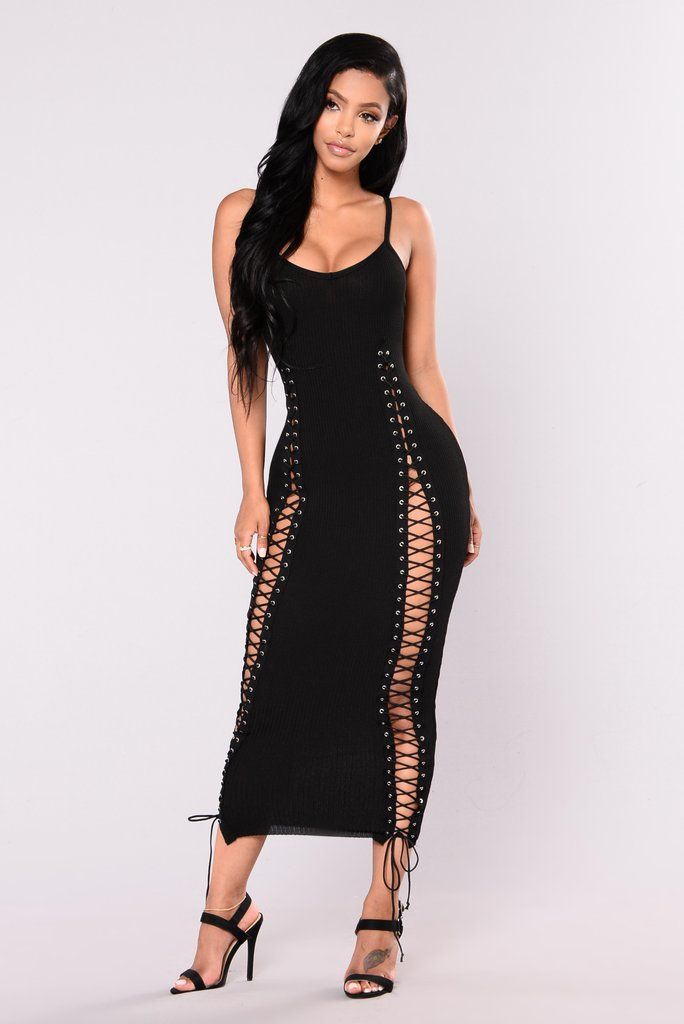 5587ad50ac Temperance Knit Dress - Black