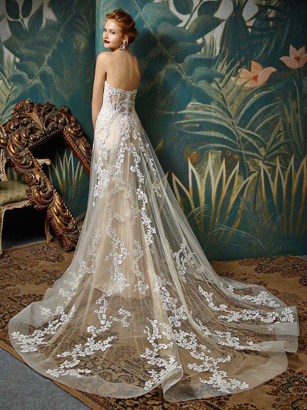 76b3c9b7 JILLY 2019 brudekjole i 2019 | Brudekjoler | Wedding dresses, Bridal ...