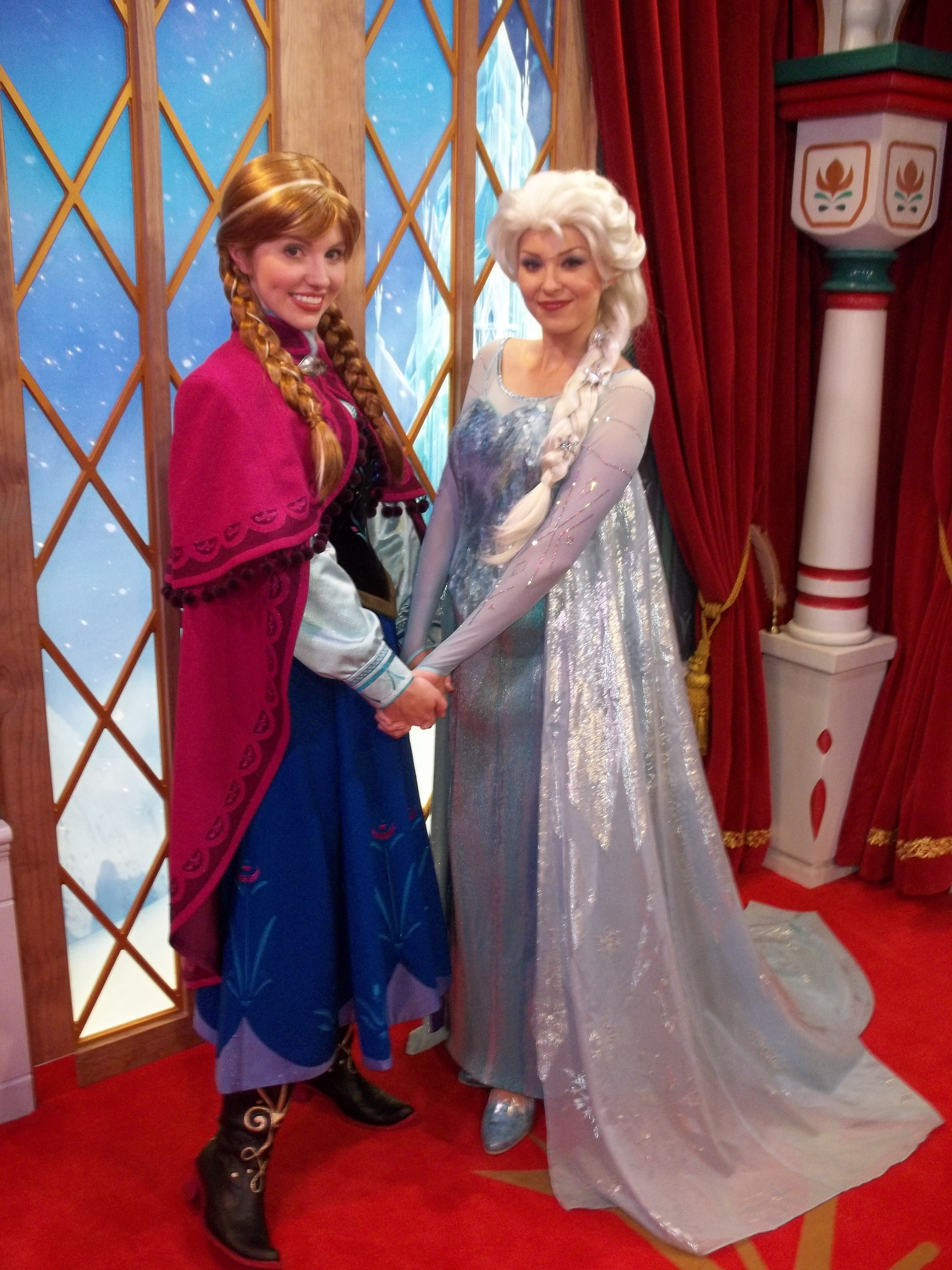 How To Meet Every Princess Anna And Elsa Frozen Norway Epcot
