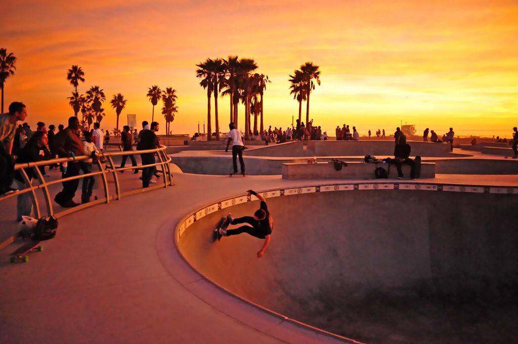Venice Beach Skate Park Way